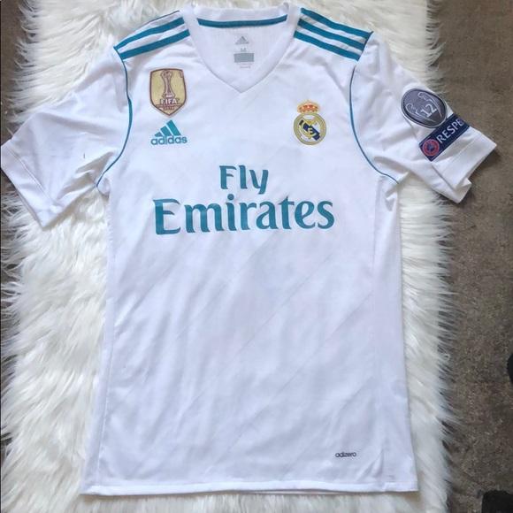 brand new dc207 98800 Adidas Ronaldo Fly Emirates Jersey